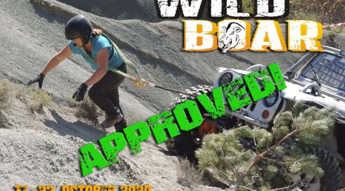 Wild Boar Valley Challenge 2020. – APPROVED!
